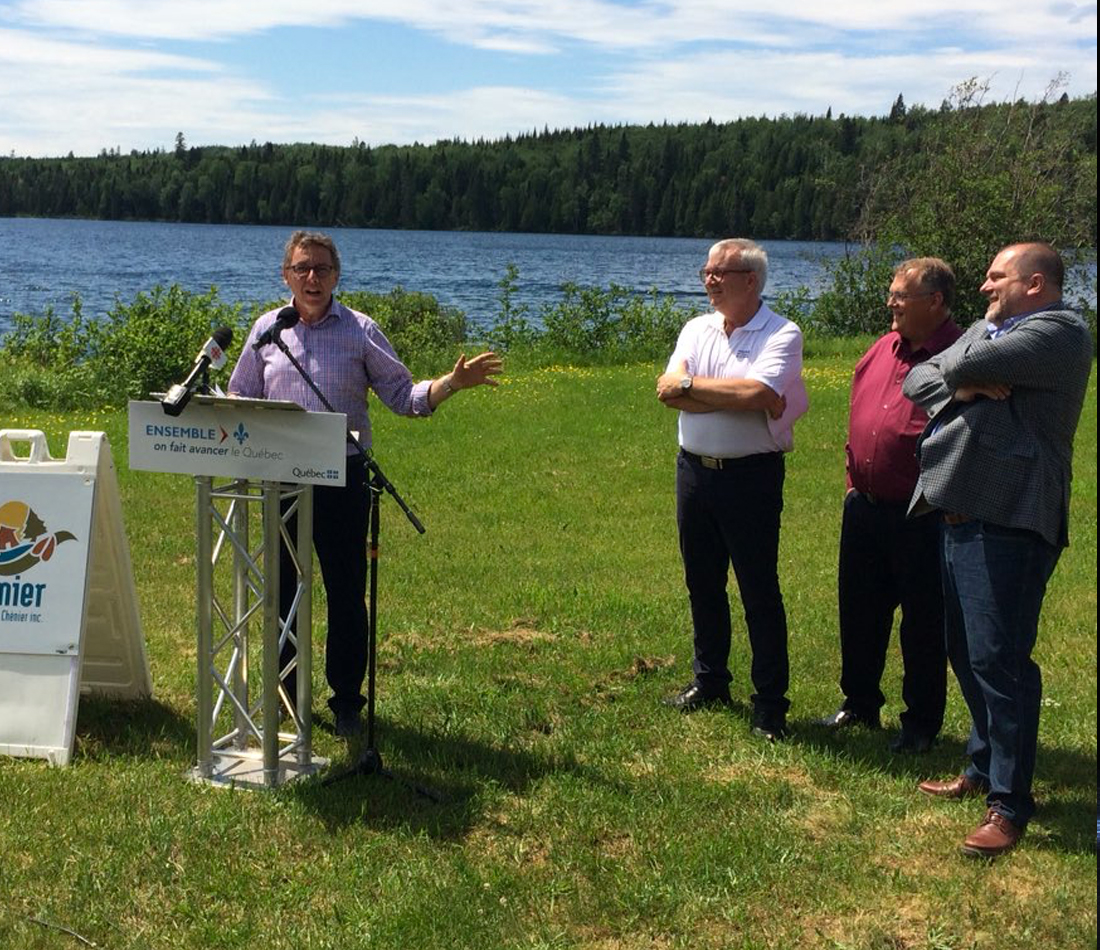 Aide financière de 10 M$ pour le plan de développement de la réserve faunique Duchénier