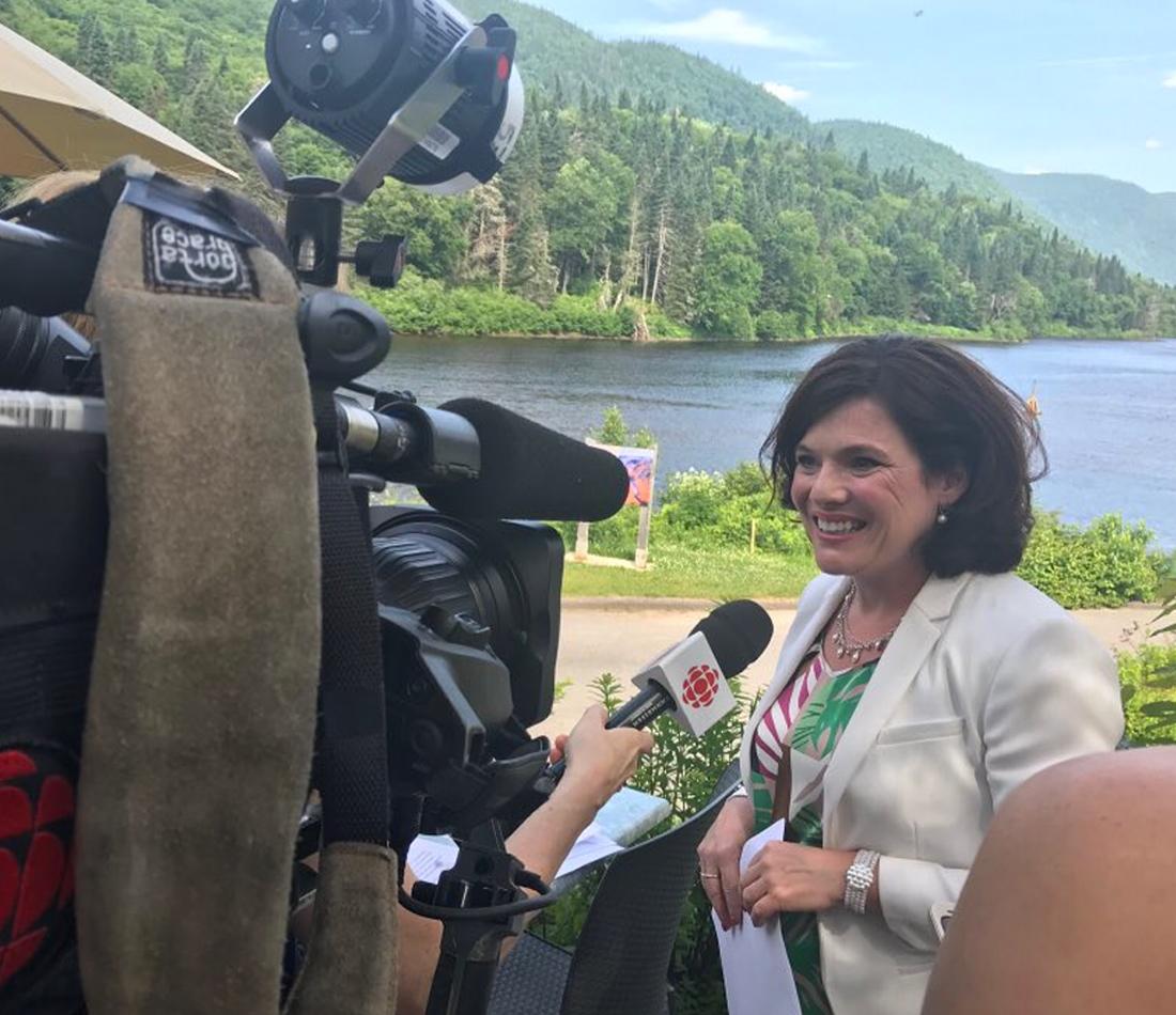 Parc national de la Jacques-Cartier et réserve faunique des Laurentides - Plus de 21 millions $ pour une expérience et un accès améliorés
