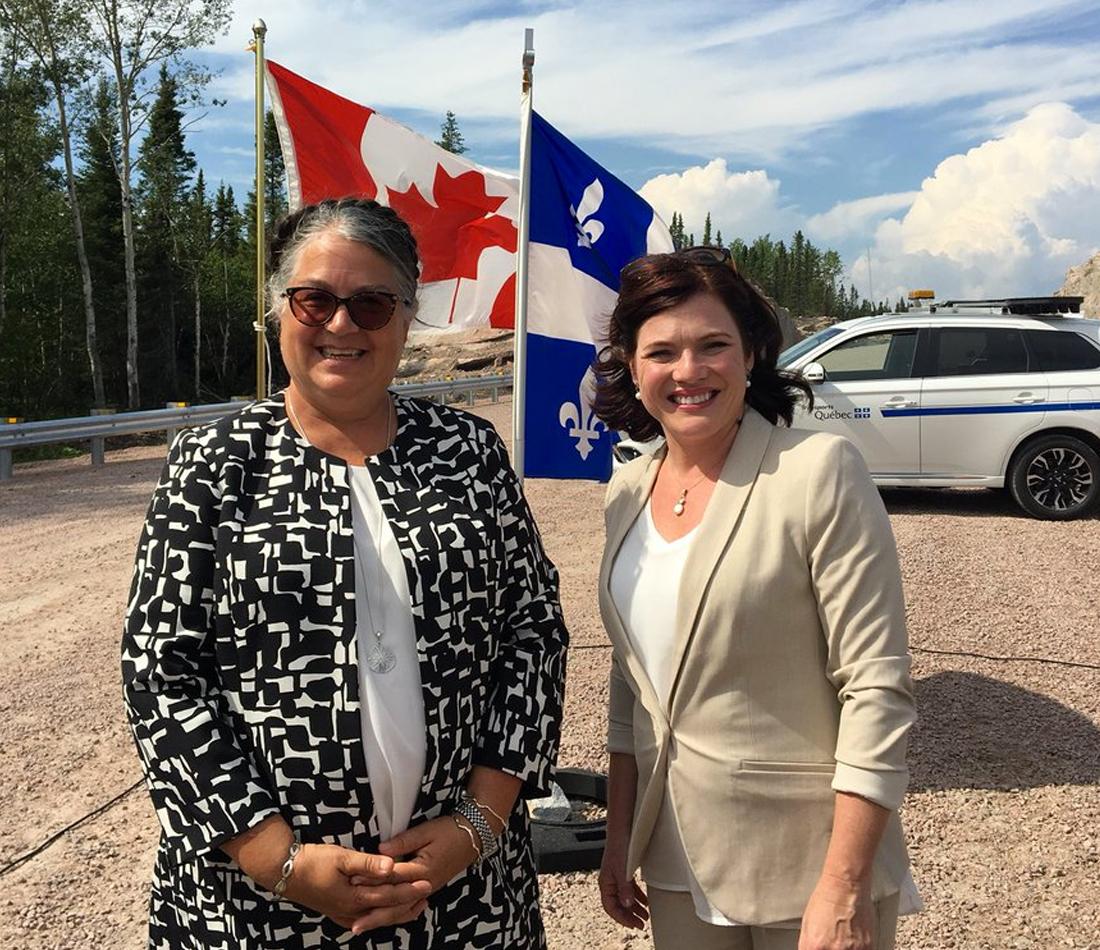 Les gouvernements du Canada et du Québec investissent dans des travaux majeurs sur la route 389 entre Baie-Comeau et Fermont