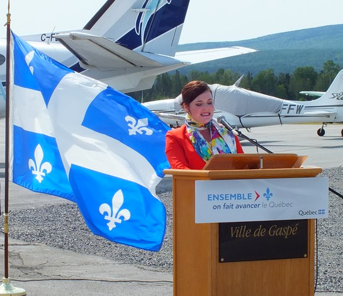 Transport aérien régional - La ministre Véronyque Tremblay annonce trois importantes mesures