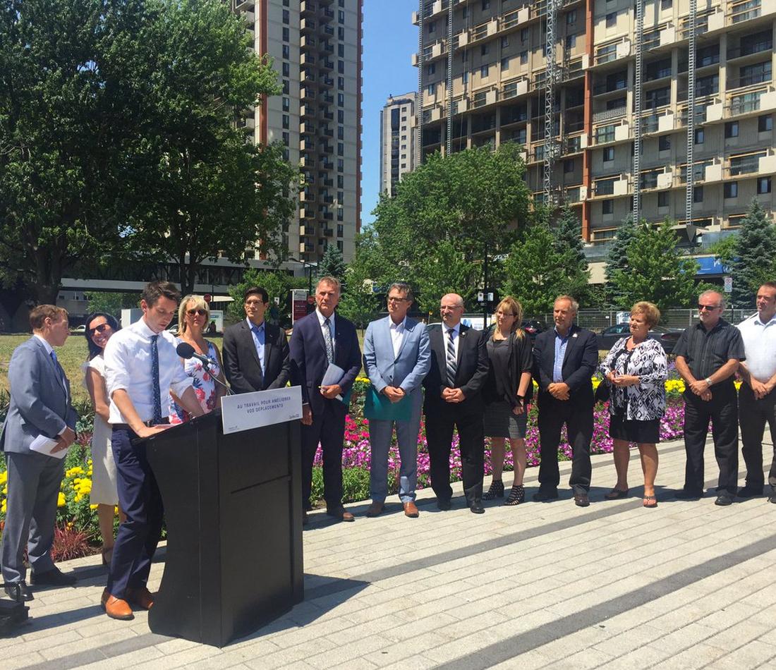Québec appuie la vision d'avenir du milieu municipal - Québec appuie la vision d'avenir du milieu municipal