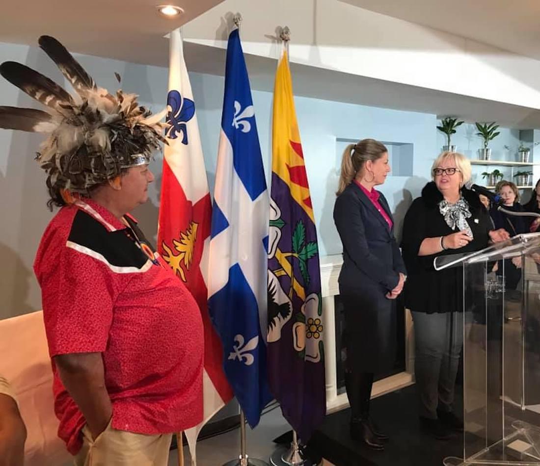 Les autochtones et leurs représentants abandonnés par la ministre Sylvie D'Amours