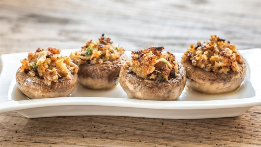 Gemi Bertran's Blog: Portobello Mushrooms Stuffed