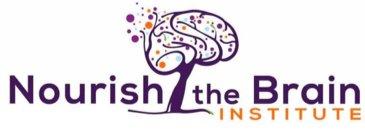Gemi Bertran's nourish the brain footer logo