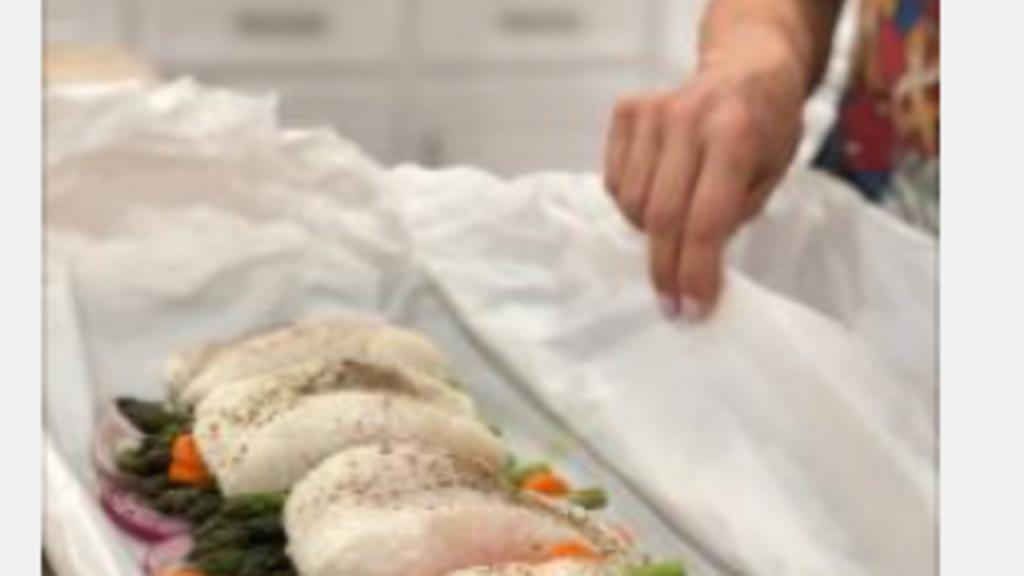 Gemi Bertran's Recipe: Salmon in Papillot