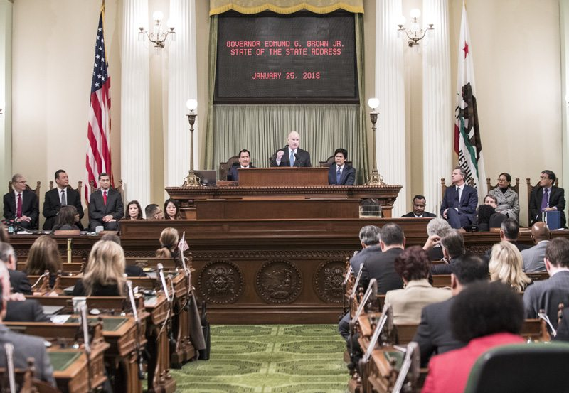 Brown's Final State of the State