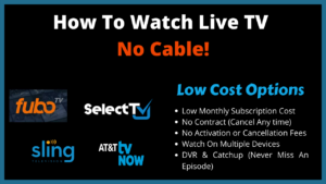 HOW TO VIDEOS FOR CORD CUTTERS live tv no cable img