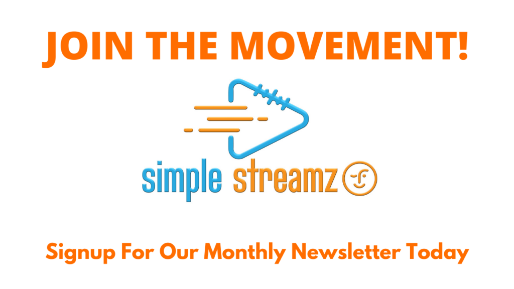 simple streamz newsletter sign up img