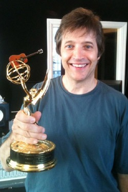 Producer Kenny R. is proud of his Emmy!