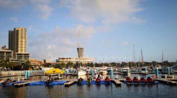 Floating pontooons for docks