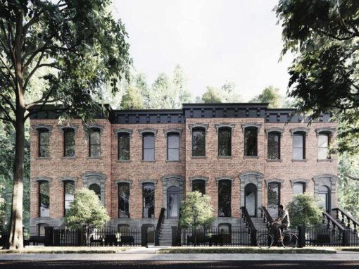 Haynes Homes: Missing Middle Brownstones in Glenora