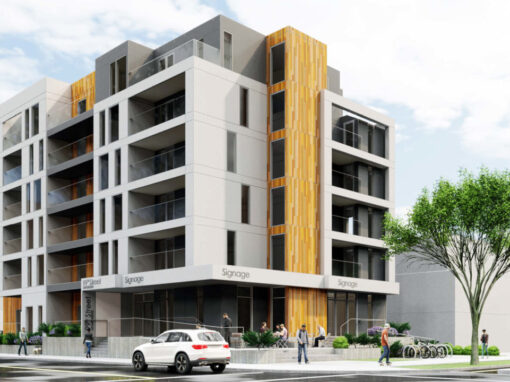 Modern Missing Middle: People Friendly Apartments in Strathcona