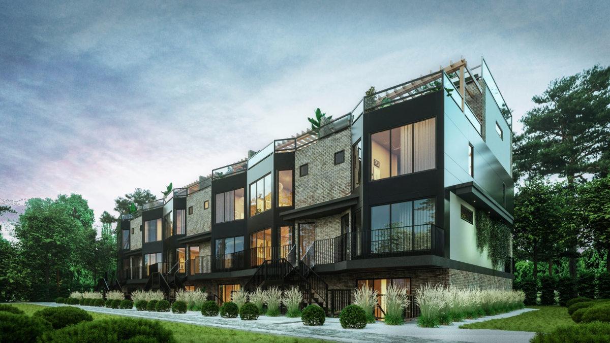 Euro Design Master Builder: Infill Row Housing in Westmount