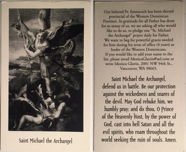 Saint Michael, Archangel