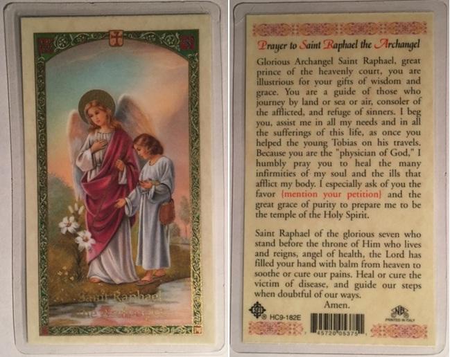 Saint Raphael, Archangel