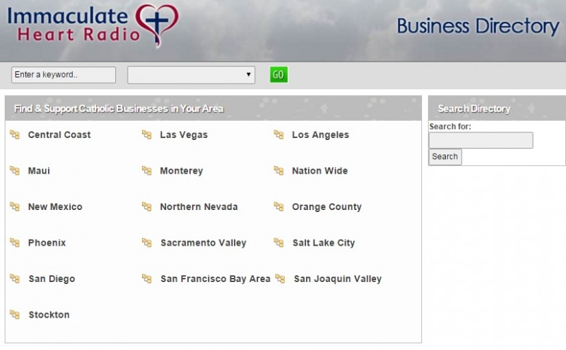 Catholic Business Directory