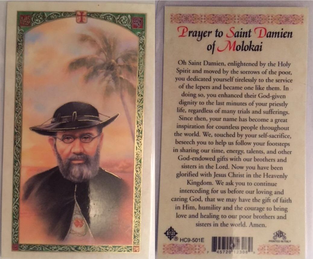 Saint Damien of Molokai