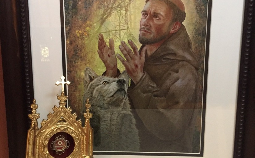 Saint Francis Display