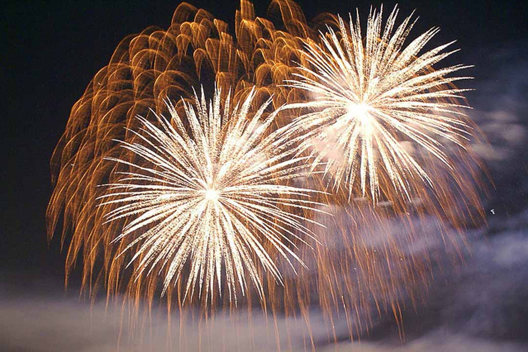 New Years Eve Fireworks in Niseko