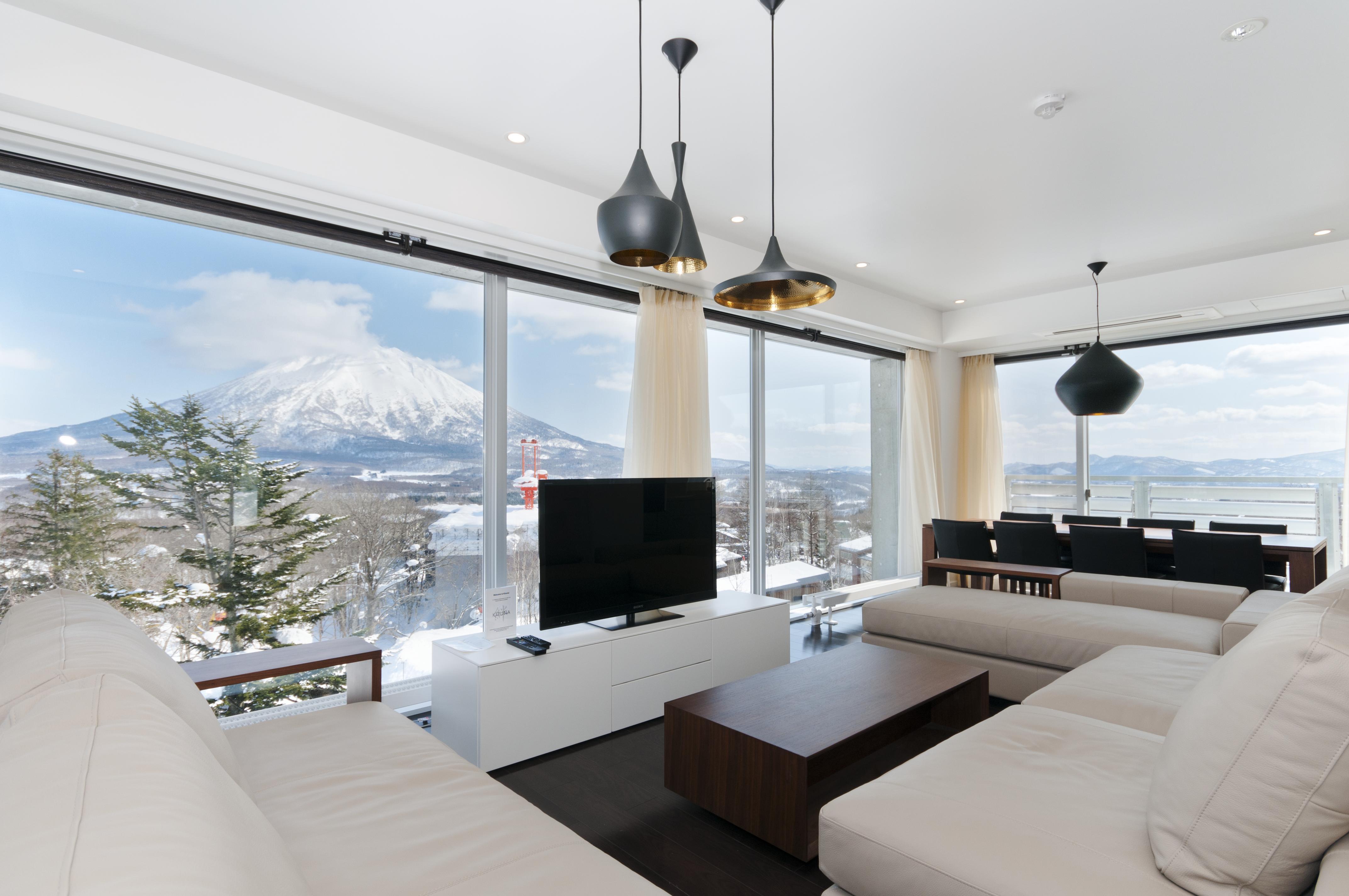 Kizuna Niseko Penthouse Lounge