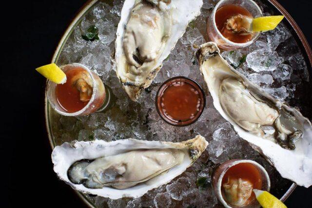 Temporada Oysters Shots