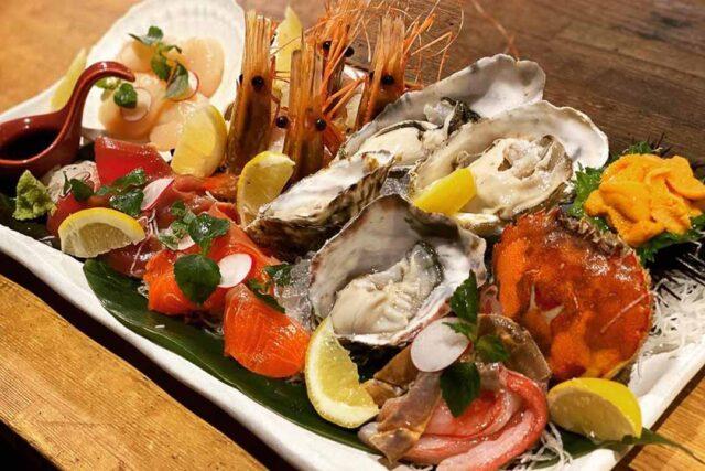 The Barn Seafood Platter