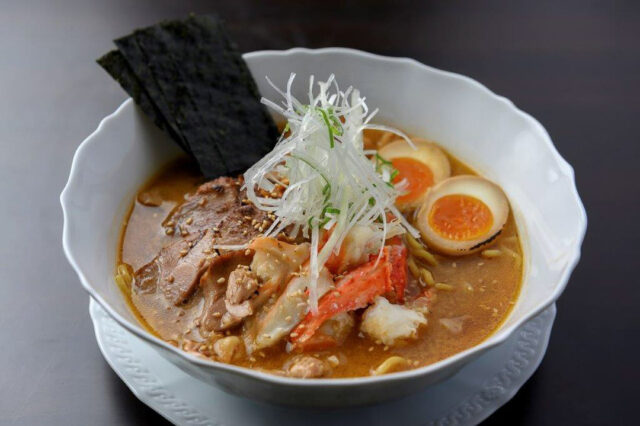 Japanese dish Ramen