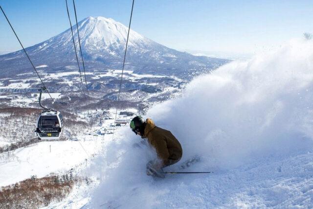 Skier in Grand Hirafu