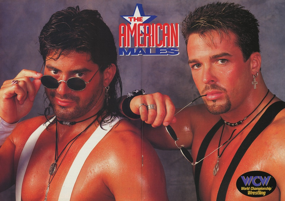 Poster of Buff Bagwell and Scotty Riggs, the American Males