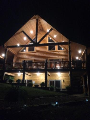 The Lodge at Night