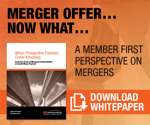 Merger Offer... Now What