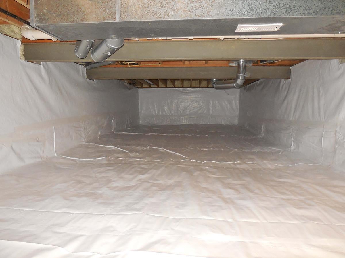 Crawl Space Installer | Vapor Barrier Encapsulation | Foundation RESQ