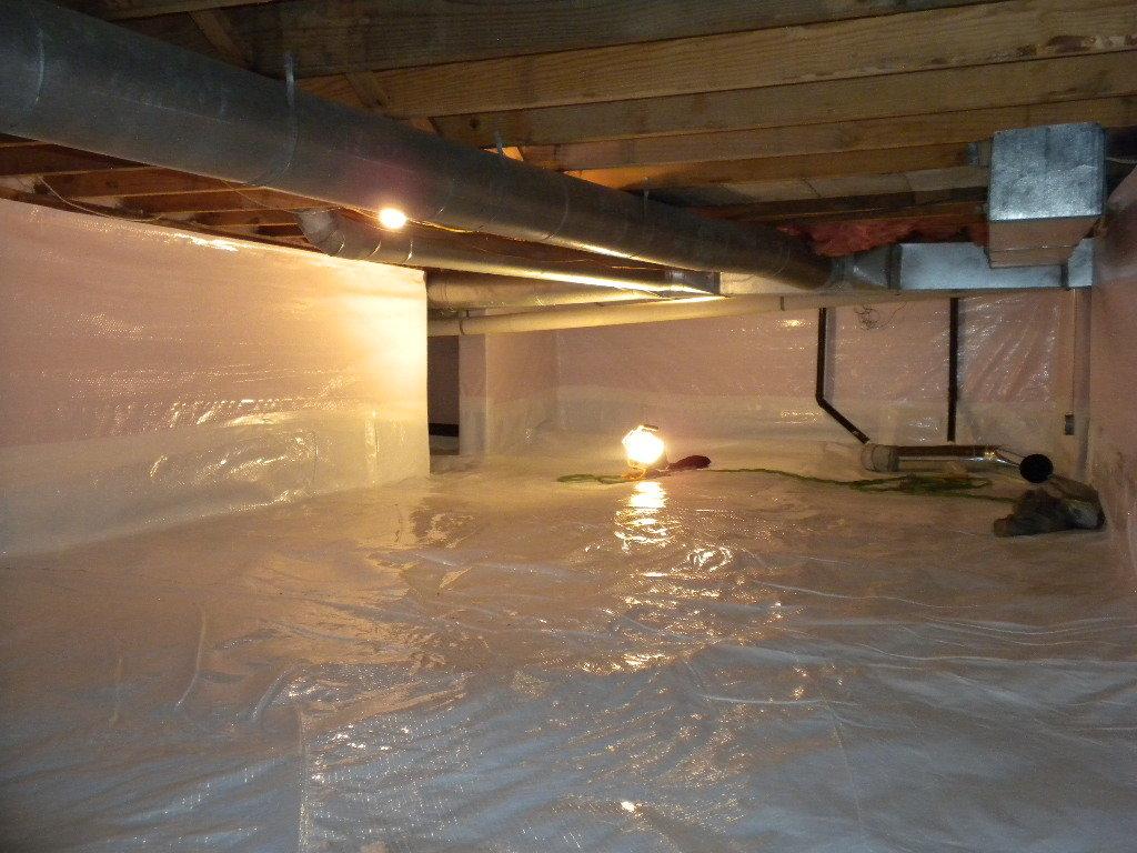 Vapor Barrier Encapsulation | Foundation RESQ | Crawl Space Encapsulation