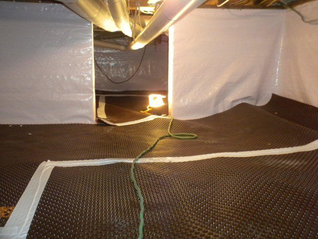 Crawl Space Encapsulation | Vapor Barrier Installer | Foundation RESQ