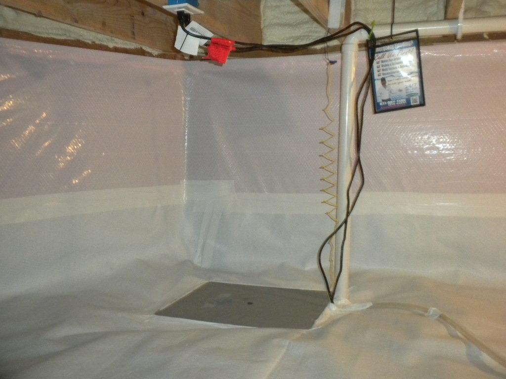 Crawl Space Encapsulation | Foundation RESQ | Sump Pump