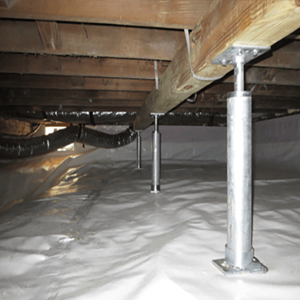 Crawl Space Stabilization Service | Sagging Floors | Foundation RESQ