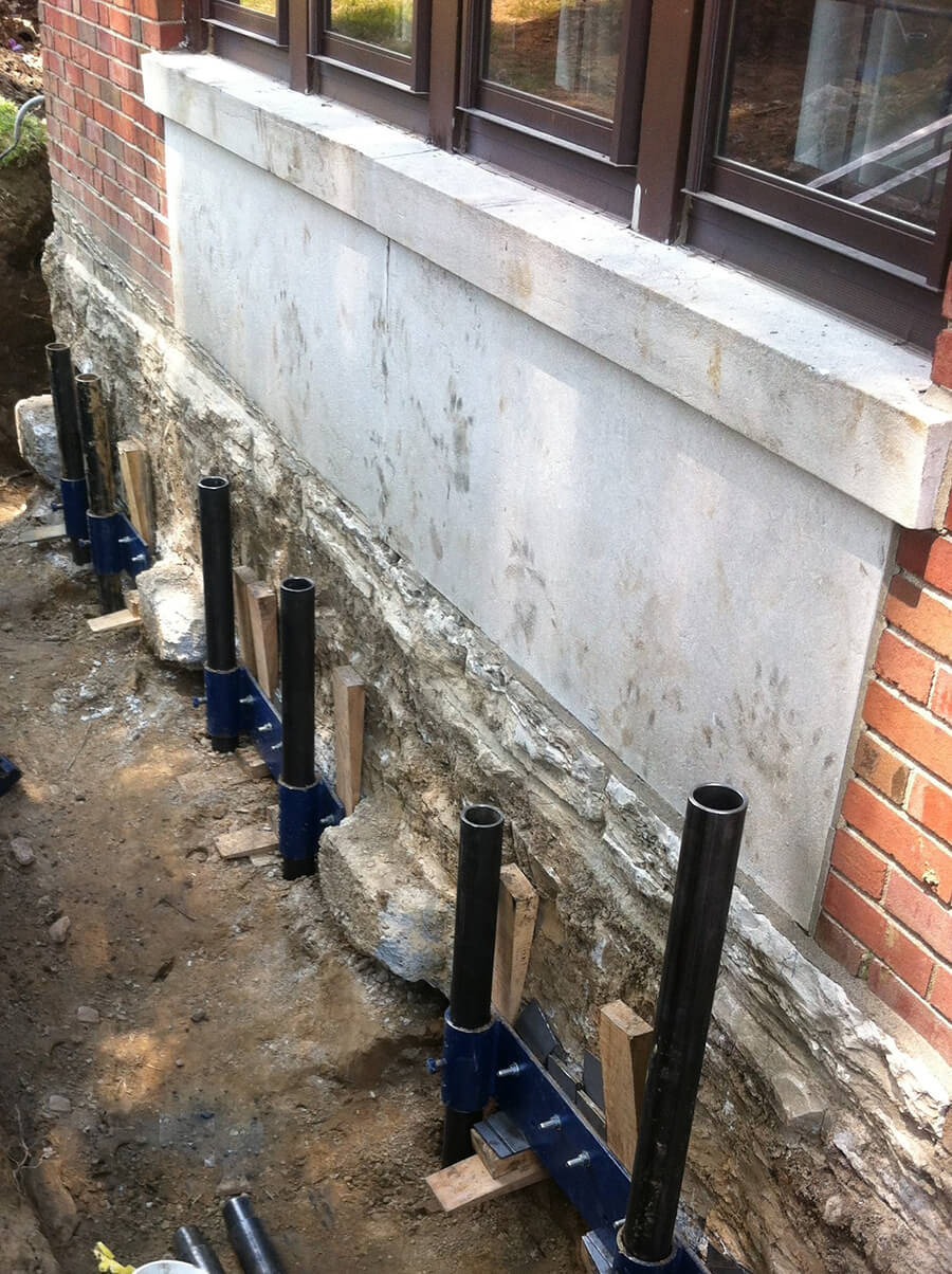 Local Structural Repair Company | Push Pile Installer | Foundation RESQ