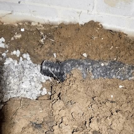 Crawl Space Drainage System   Foundation RESQ   Local Expert Installers