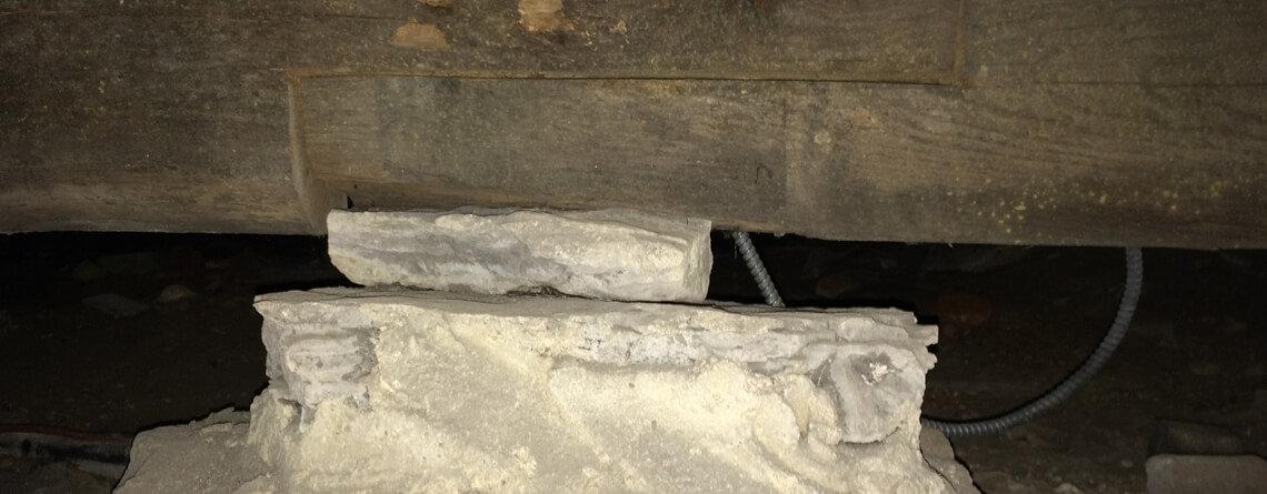 Sagging Floors | Crawl Space Stabilization | Foundation RESQ