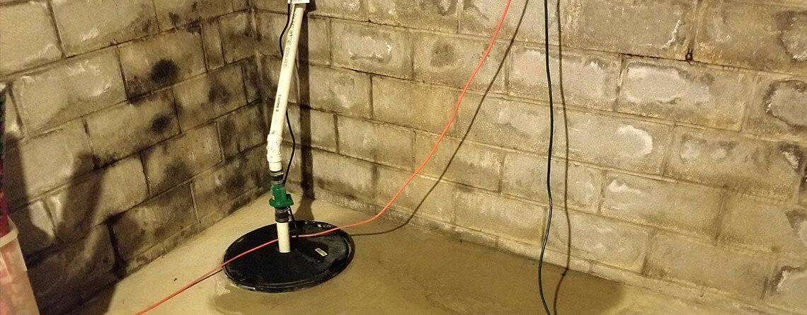 Foundation ResQ   Basement Waterproofing Services   Sump Pump Repair