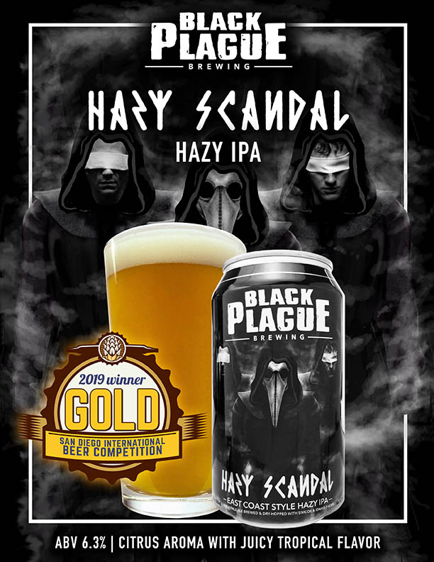 Hazy Scandal_gold medal black plague brewing