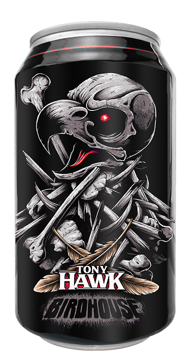 Can birdhouse tony hawk black plague tony hawps copy