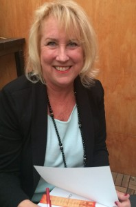 Joan Shaver at a Book Signing Event