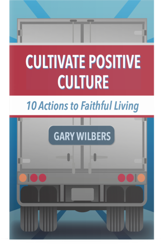 Cultivate Positive Culture book by Business Coach and Motivational Speaker's Gary Wilbers
