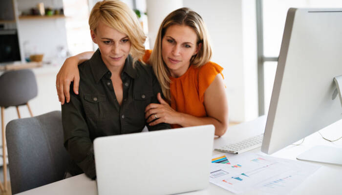 Online Group Coaching Couple
