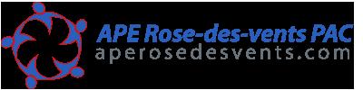 APE Rose-des-vent PAC Logo