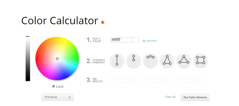 ecommerce website design color scheme 1
