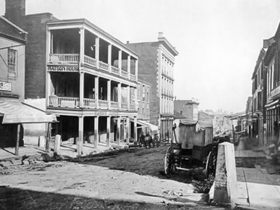 Market Street and Union in 1875