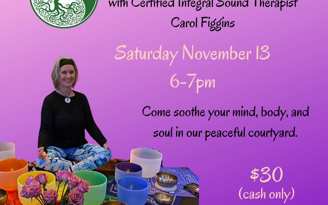 Sound Bath Event