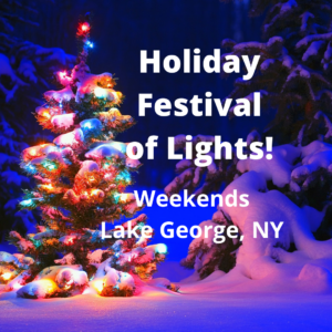 Holiday Festival of Lights @ Charles R. Wood Park
